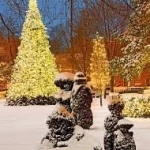 Topiary Park Holiday Lights