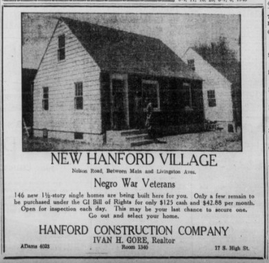 1946 5 25 hanford ad